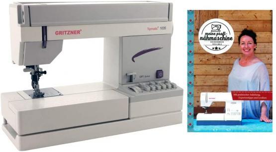 Gritzner Nähmaschine tipmatic 1035 mit DFT