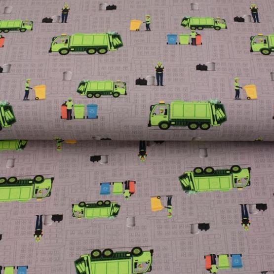 French Terry Druck Recycling- KATINOH von Textil Rammelkamp