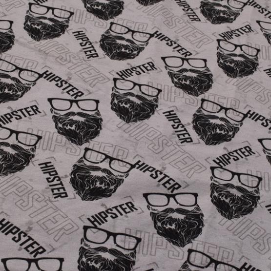 French Terry Druck Hipster- KATINOH Textil Rammelkamp