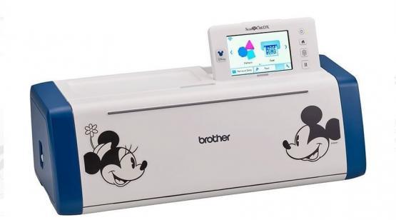BROTHER Schneideplotter ScanNCut SDX2200D Disney