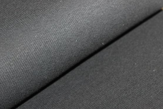 Bündchenware schwarz
