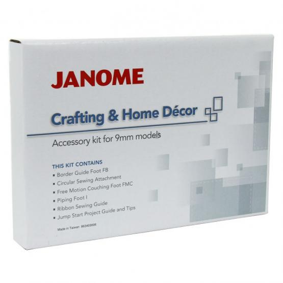 Janome Crafting & Home Decor Set