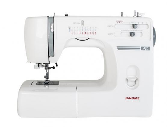 JANOME 920 mit Bonus-Kit