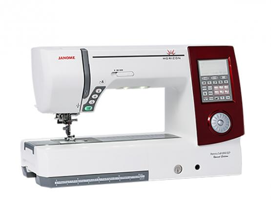 JANOME Horizon MC 8900 QCP (rot) Special Edition