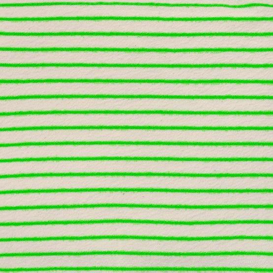 Sweat Towel Stripes Green Flour von Katia
