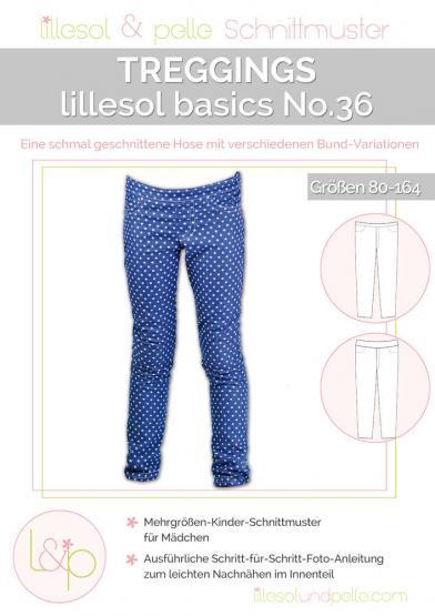 Treggings lillesol&pelle Schnittmuster Größe 80-164